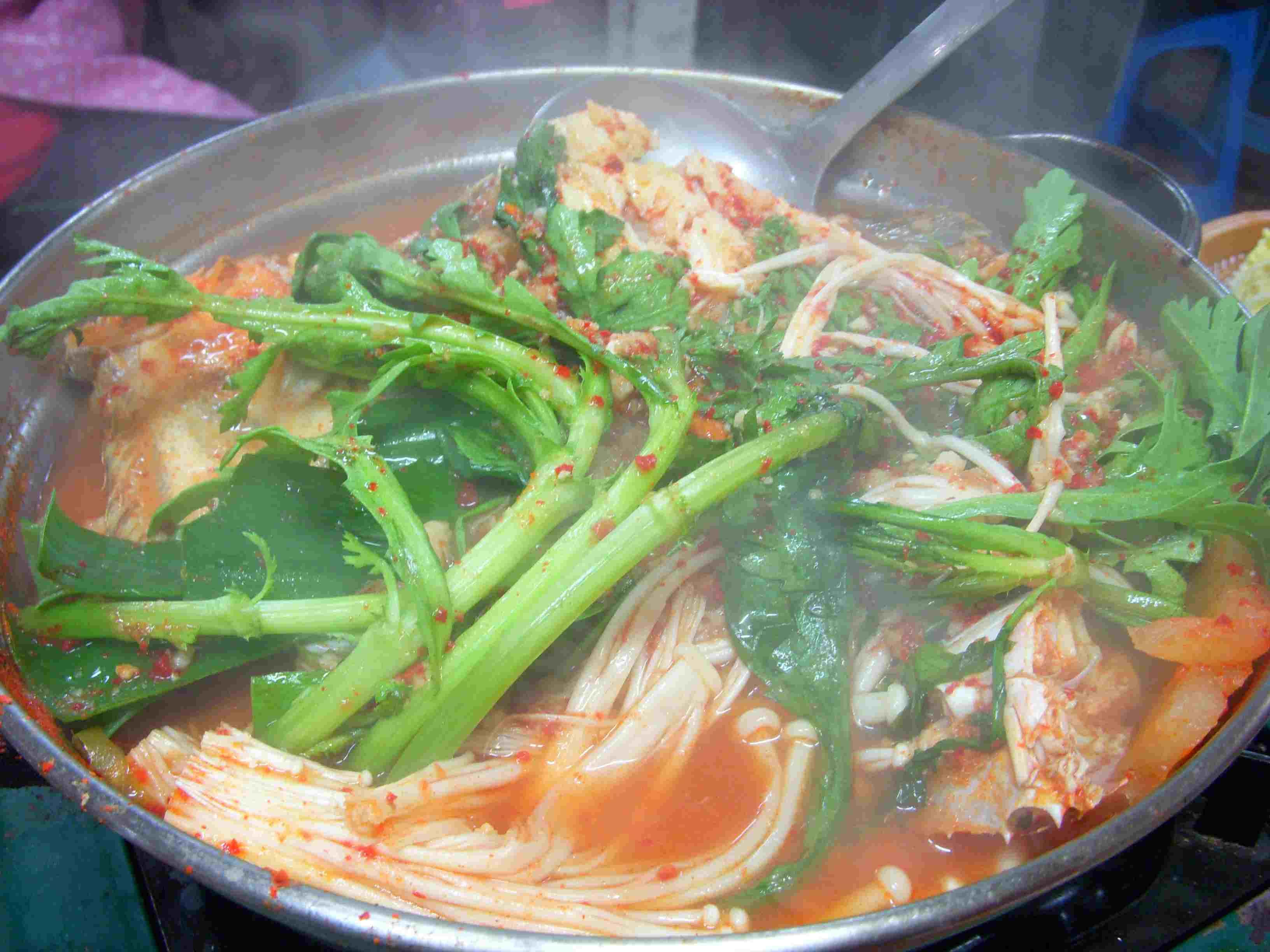 Korean Spicy Fish Stew (Mae Un Tang)