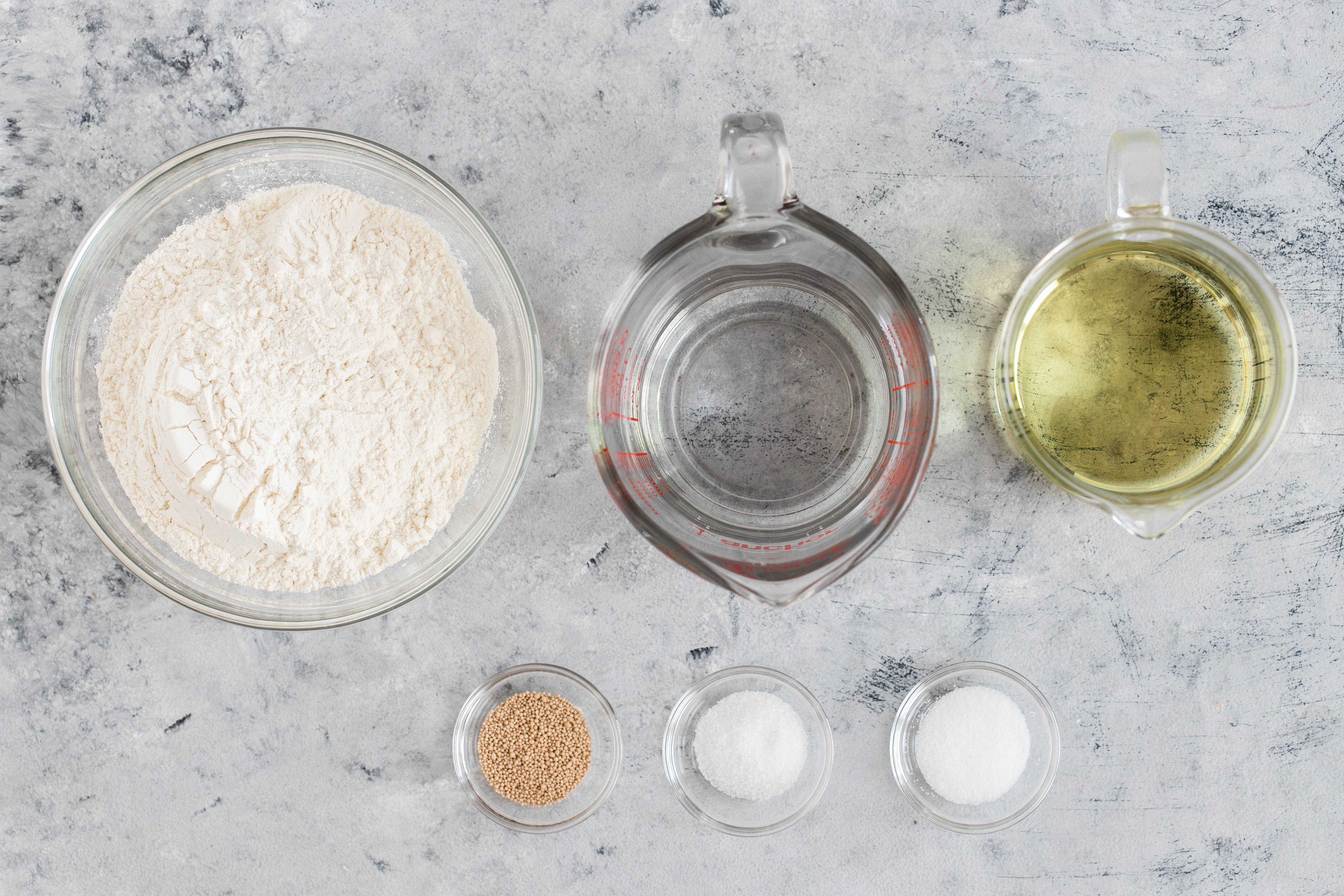 Ingredients for lokma