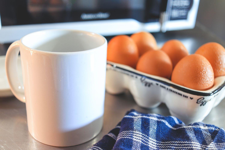 Microwave Poached Eggs Ings