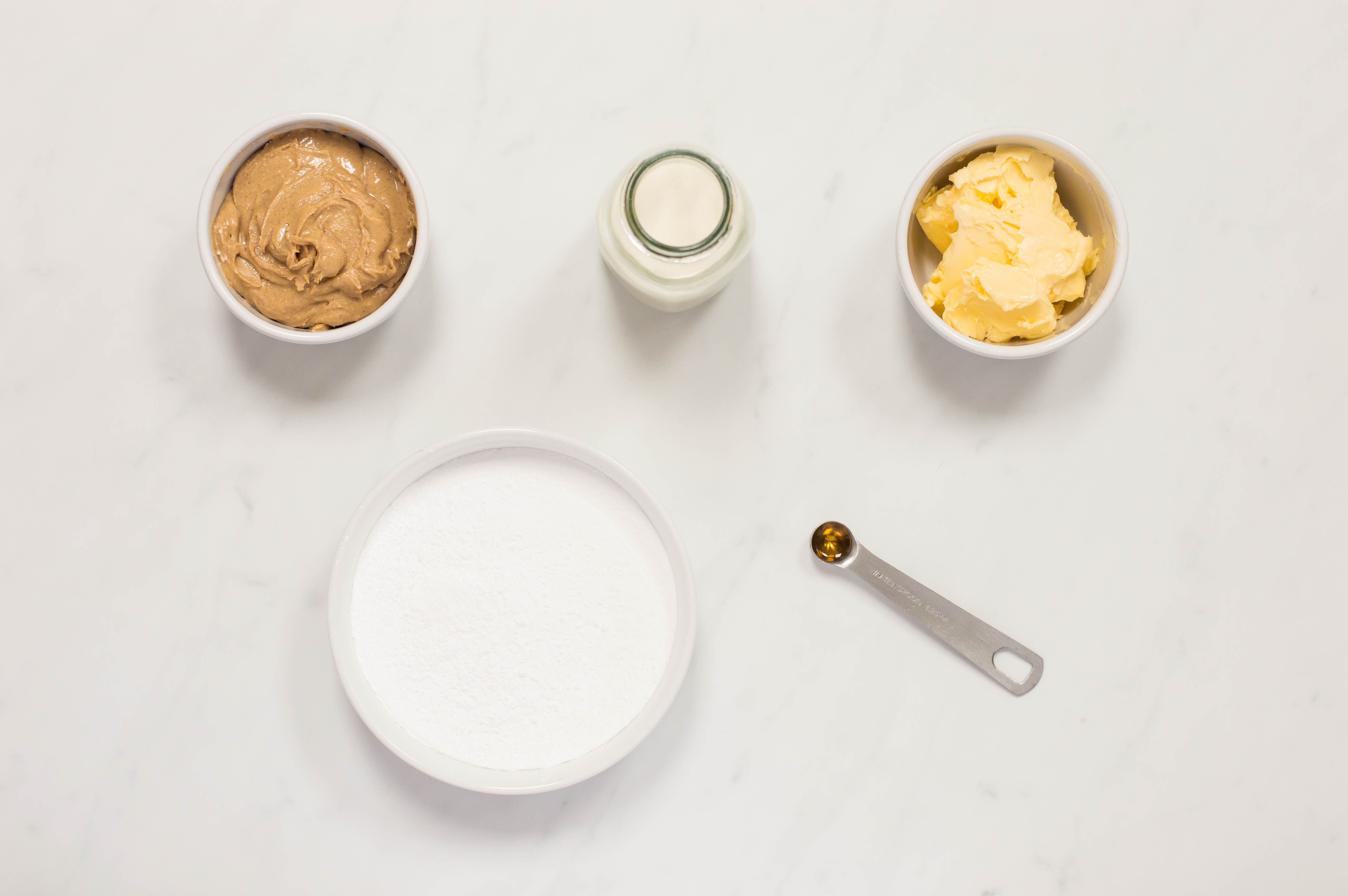 Peanut Butter frosting recipe ingredients