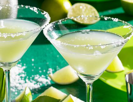 Refreshing Caipirini Cocktail With Cachaca