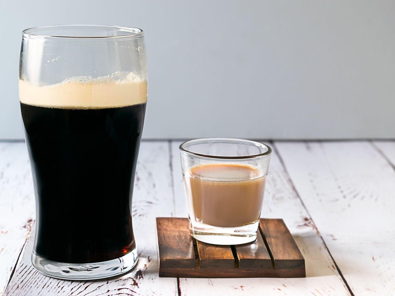 Popular Irish Slammer Dropped Shot Recipe