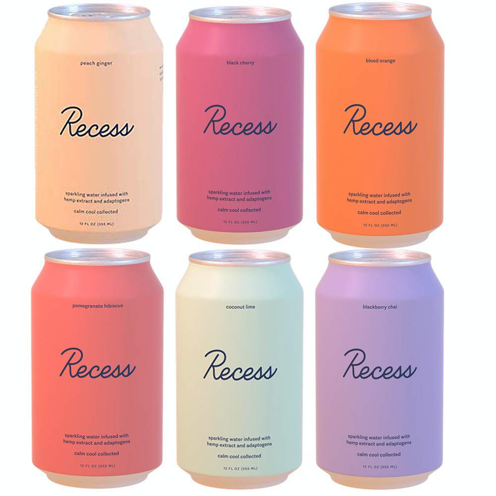 Recess Infused Sparkling Water Variety Pack