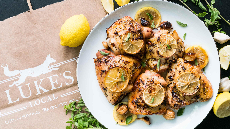 George Foreman Grill Lemon Garlic Chicken Recipe