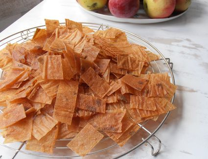 Quince fruit leather