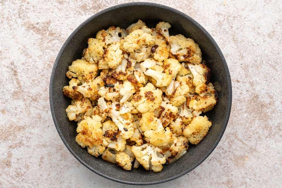 Parmesan-Roasted Cauliflower