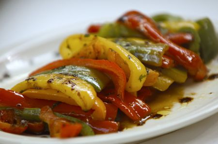 French Balsamic Peppers Recipe