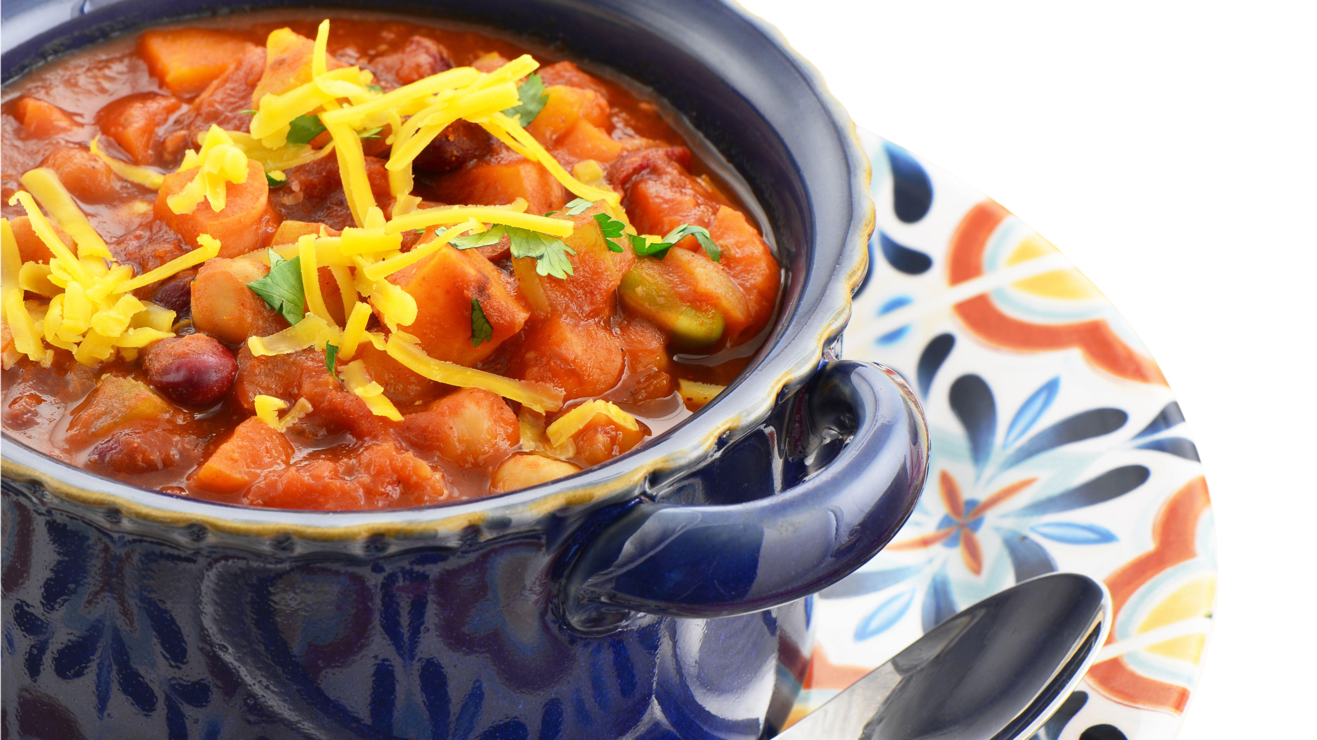 Gluten Free Vegan Crockpot Chili Recipe