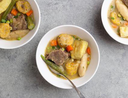 Caribbean Beef Soup