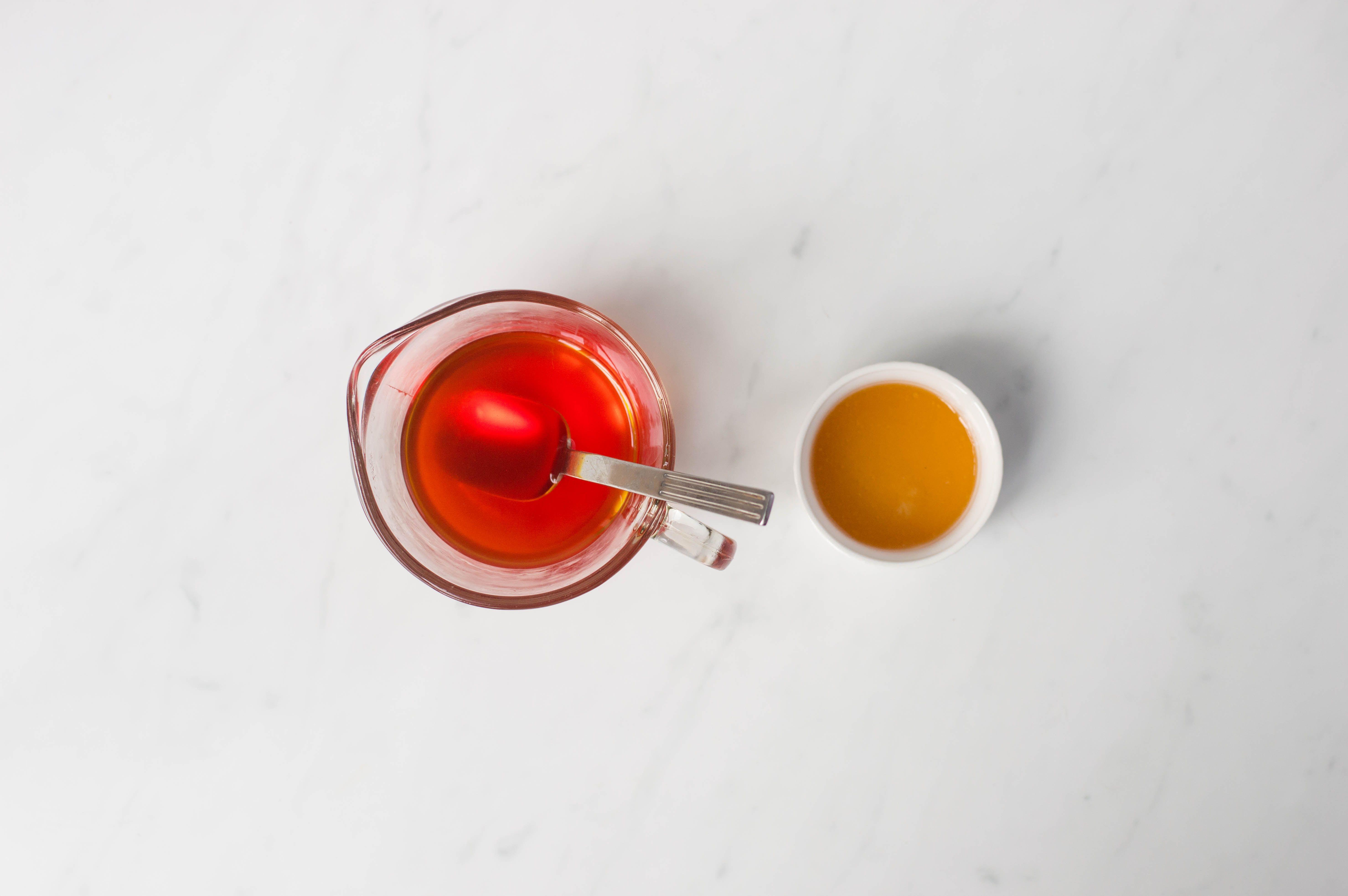 stir marmalade into jelly