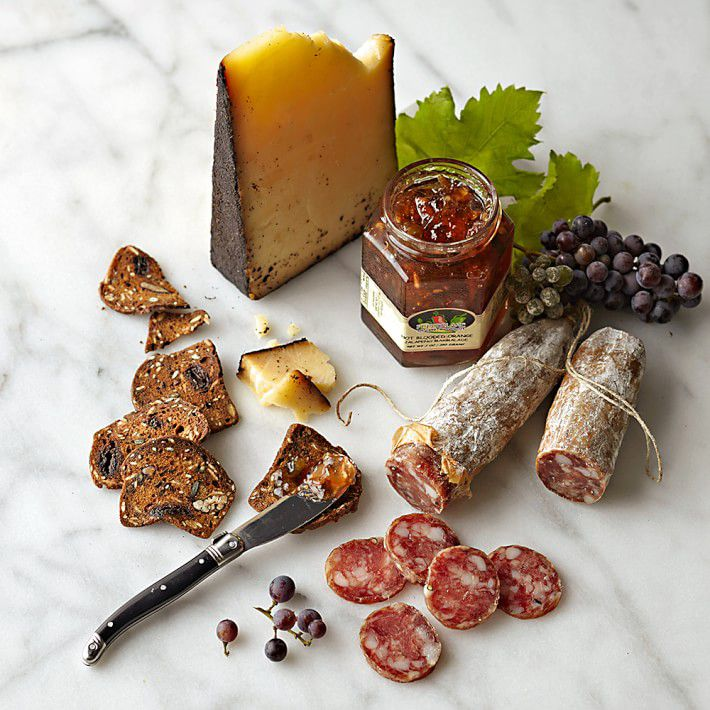 Beehive Coffee Rubbed Cheese & Salami Collection