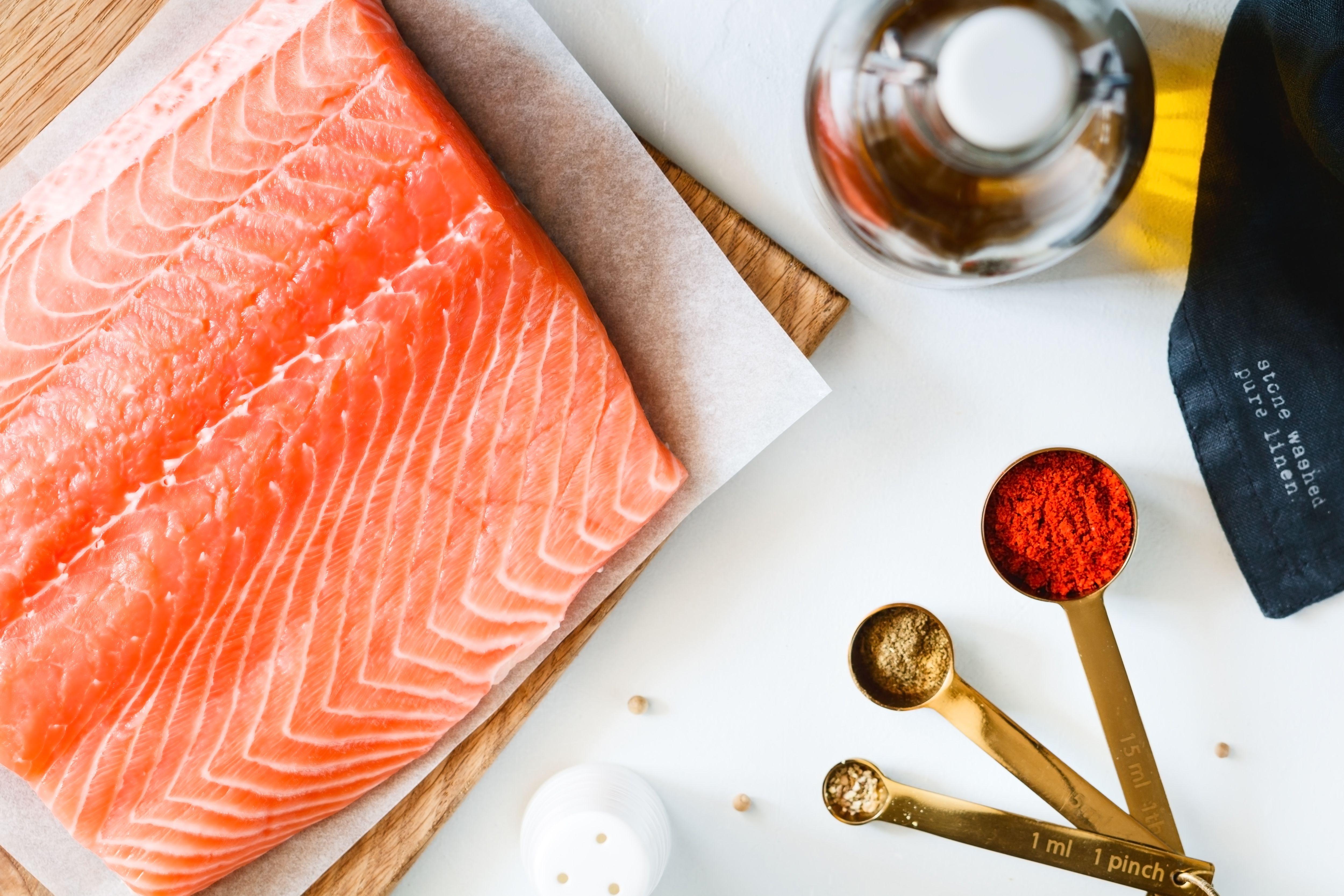 Roasted Salmon Fillets Recipe ingredients