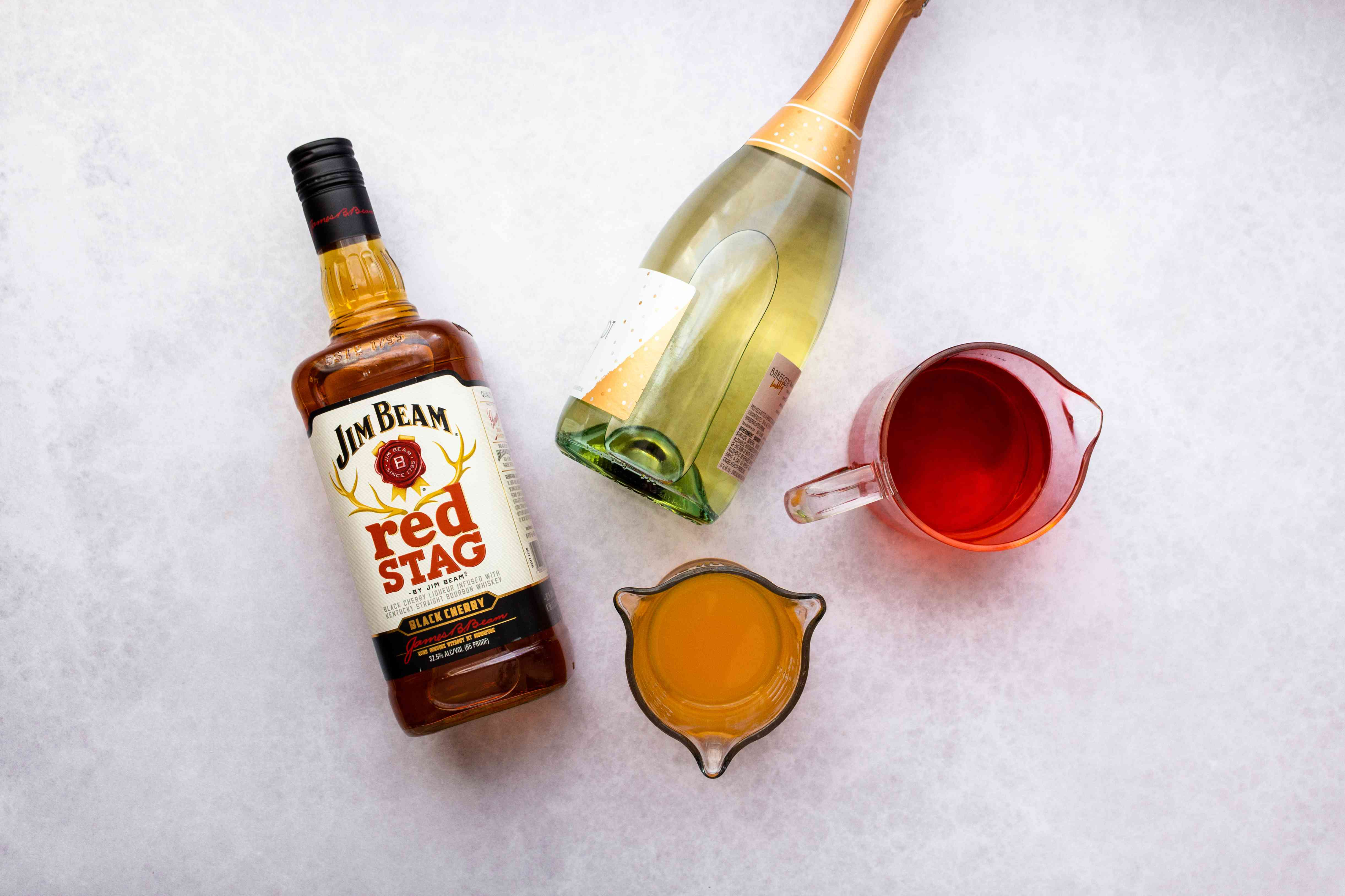 Jim Beam Fruit Punch ingredients