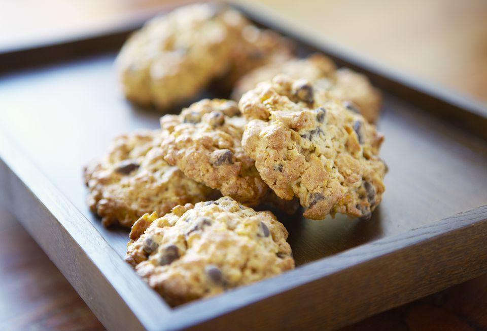 Easy Vegan Date Macaroon Cookies