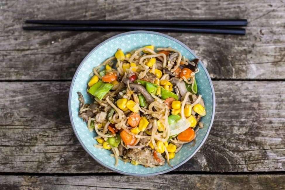 Buddha's Delight Vegetarian Stir-Fry