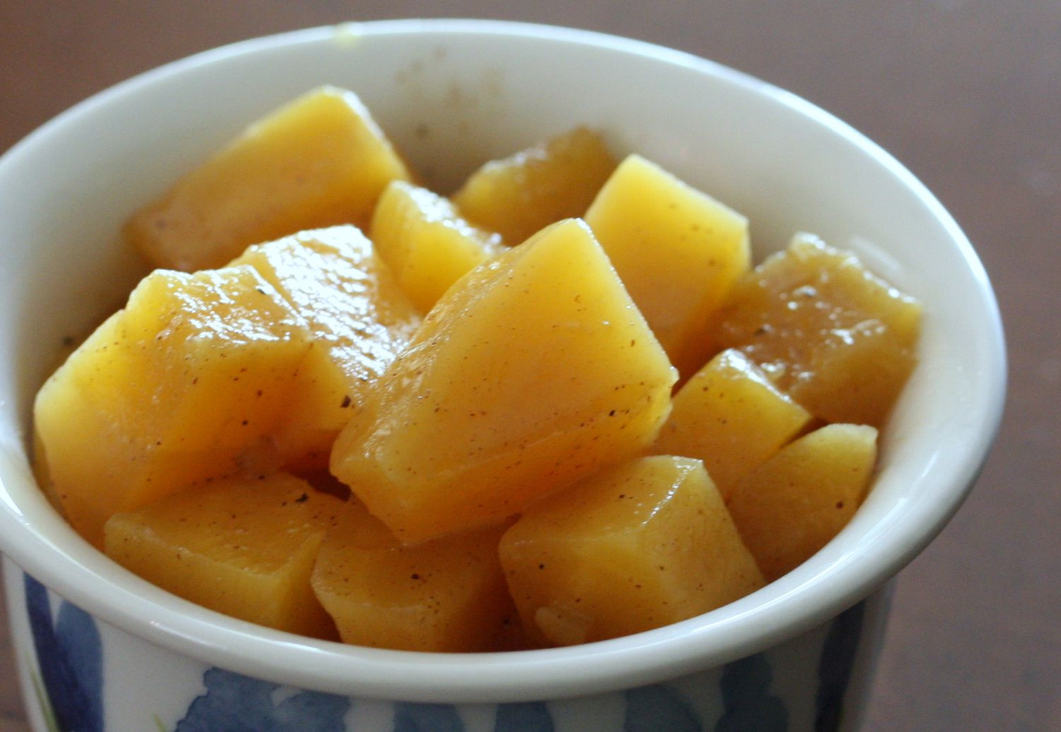 Easy Candied Golden Beets