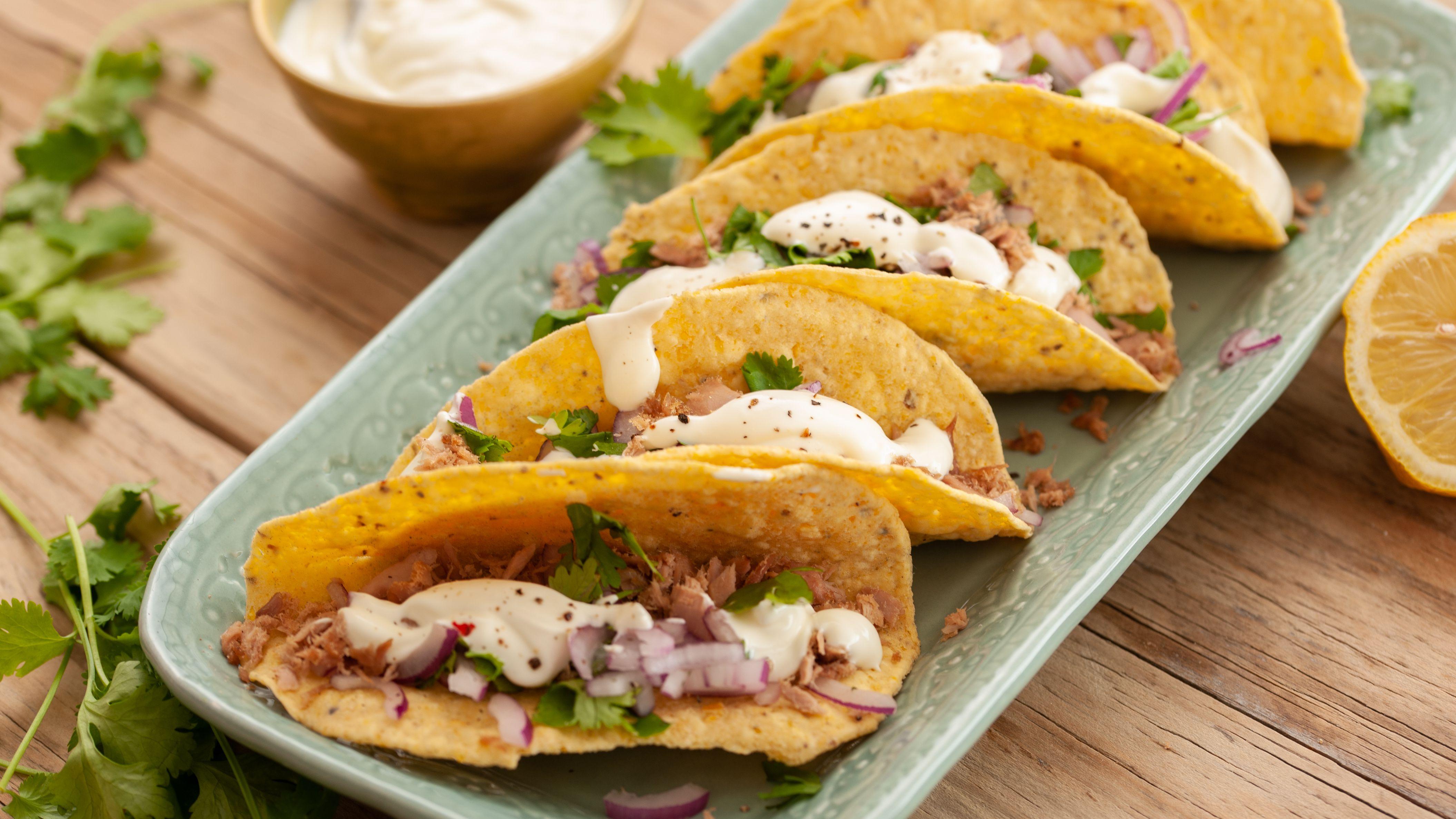 mini tacos recept