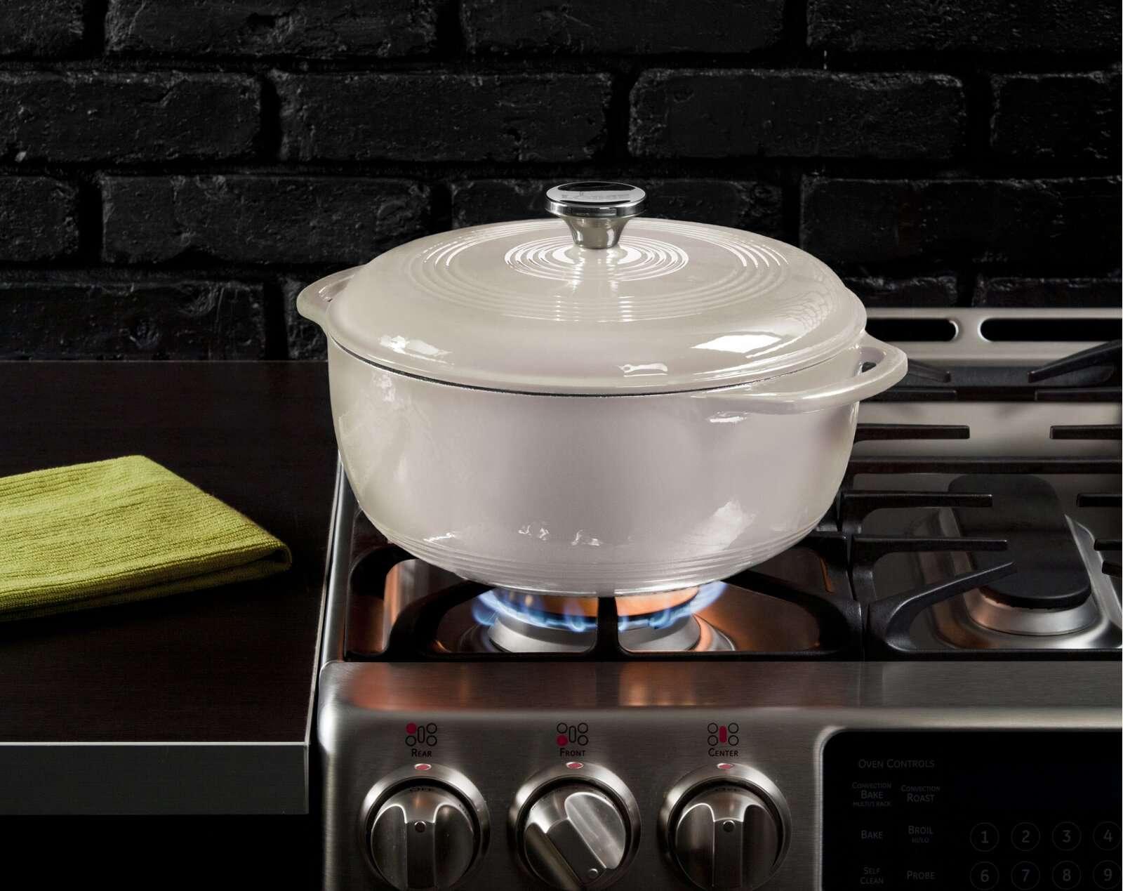 Lodge Enameled Cast Iron Dutch Oven