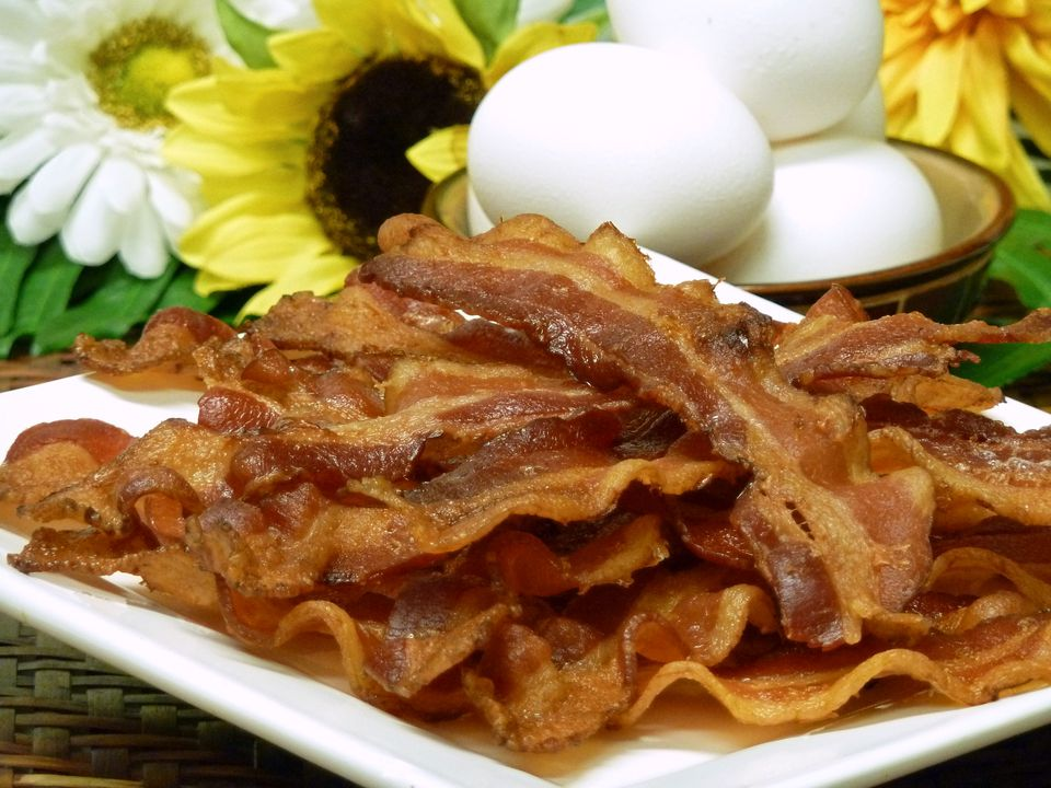 bacon, recipes, pork, receipts, rashers, slices, raw, cooked