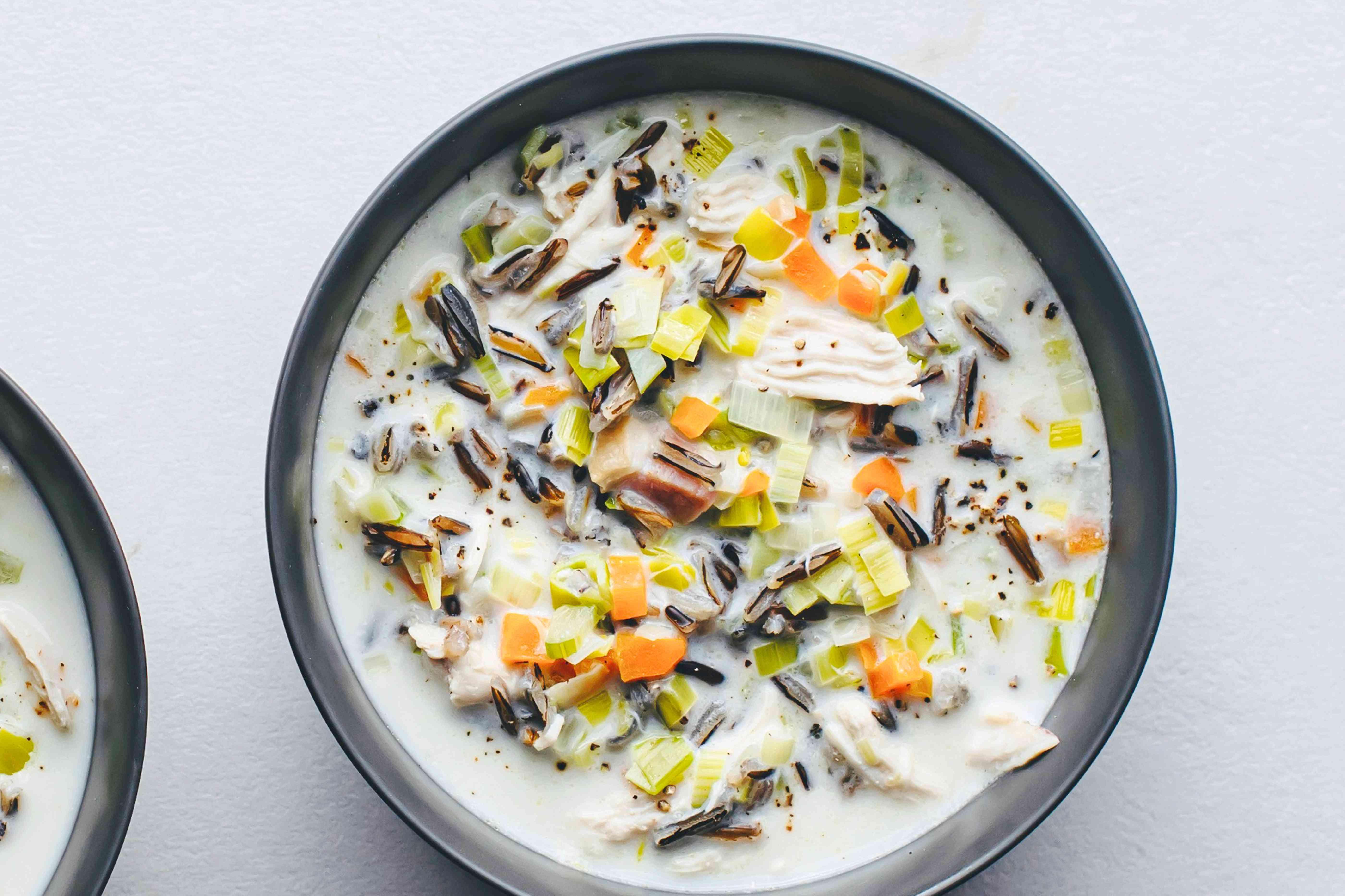 Cream of Wild Rice Soup