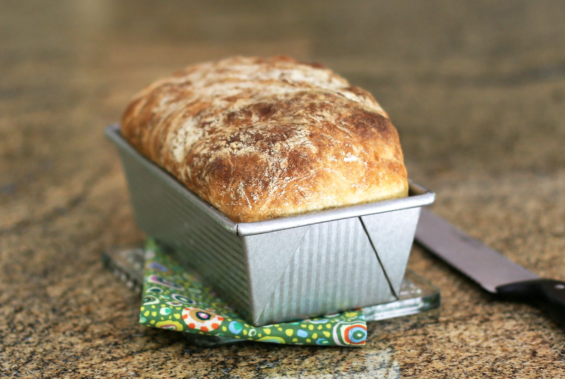 Make a Delicious Loaf of Bread Without Any Kneading