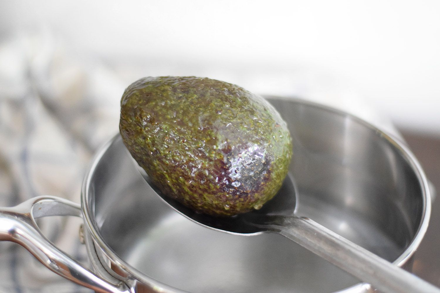 Add avocado to water