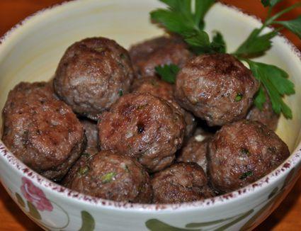 Greek meatballs keftethes