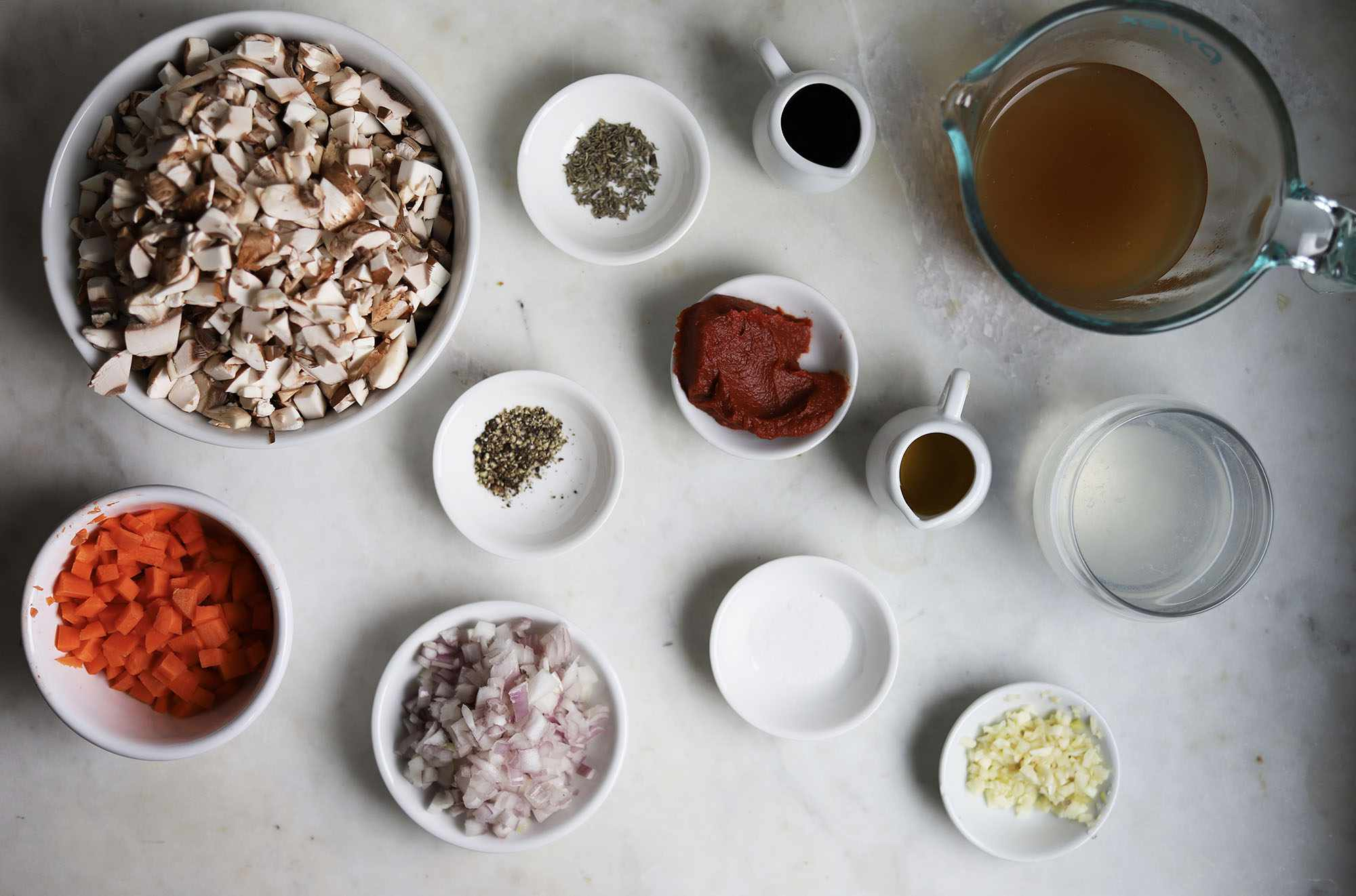 mushroom ragu ingredients