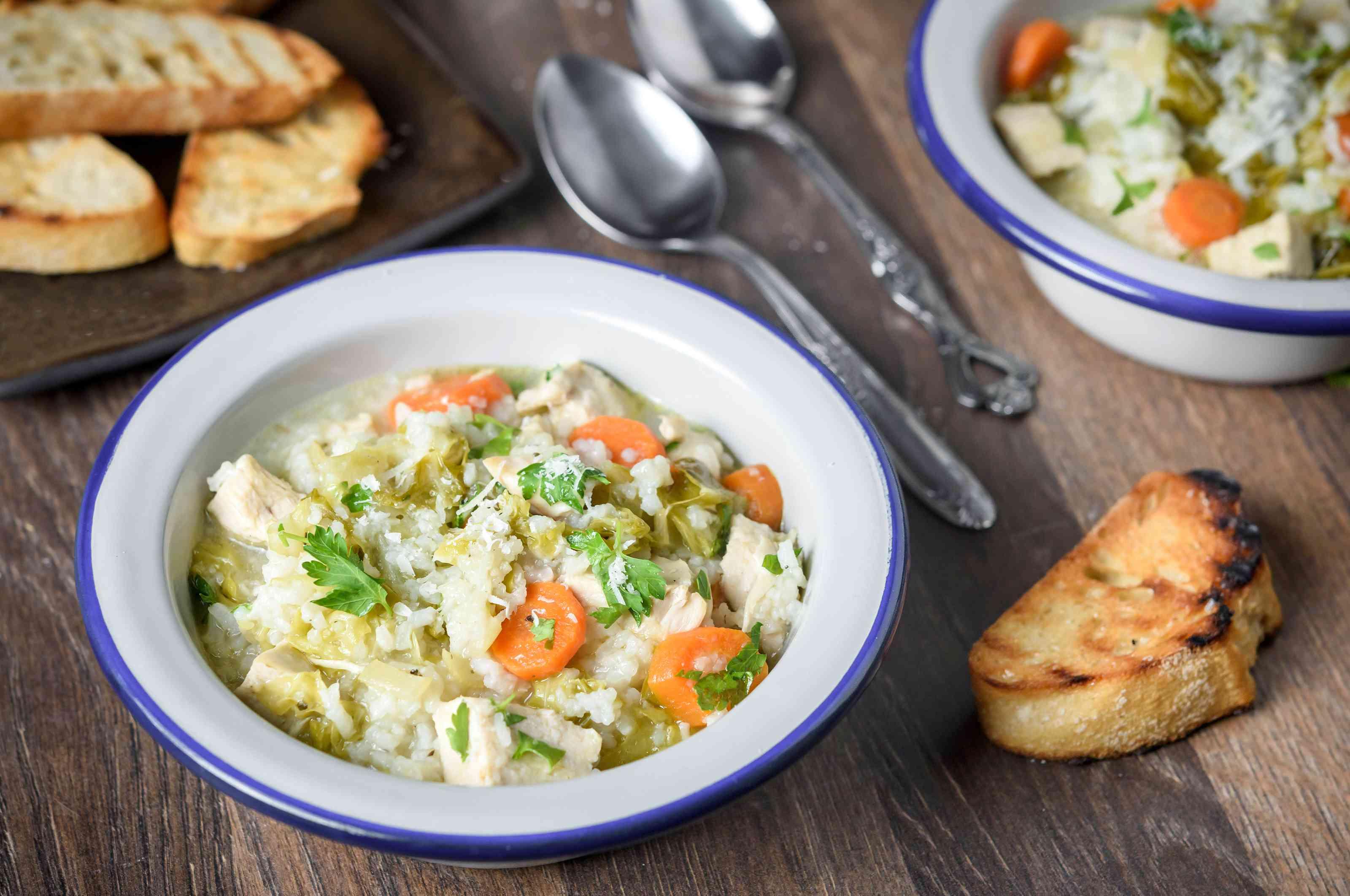 Slow cooker turkey soup recipe