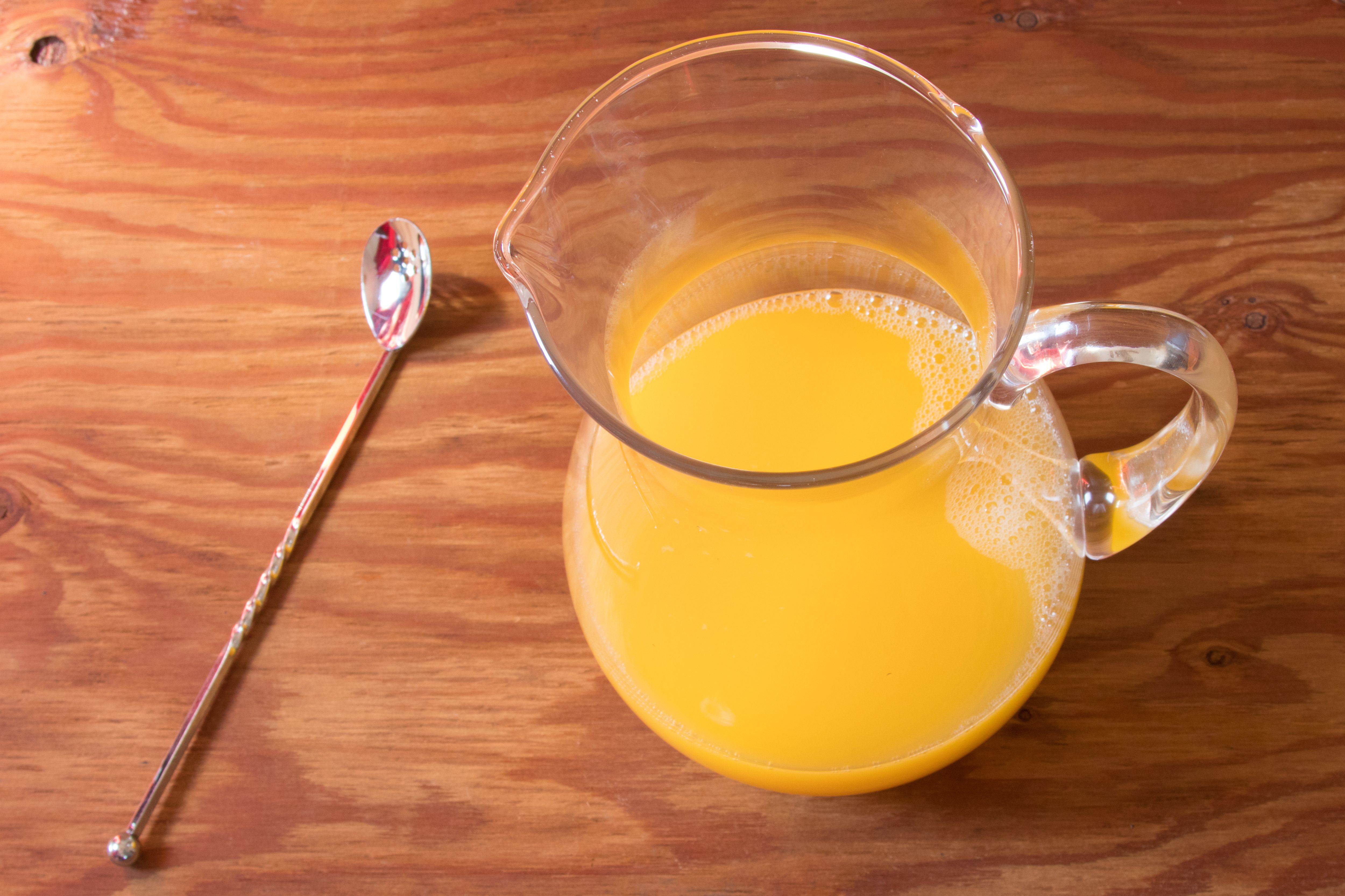 Homemade Basil-Rosemary Orangeade