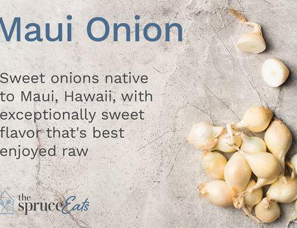Maui onion photograph and explanation