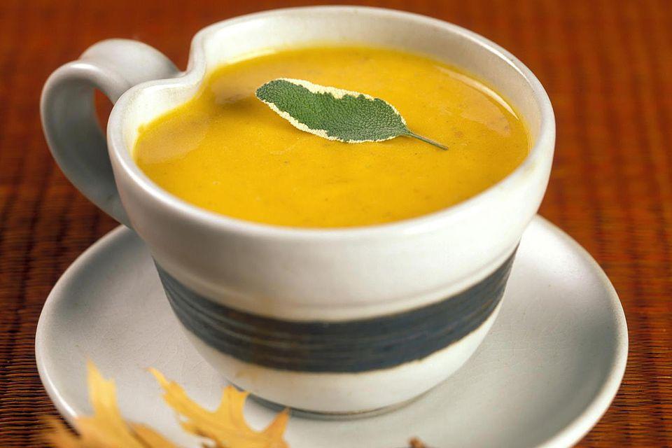 Cup of Pumpkin Soup