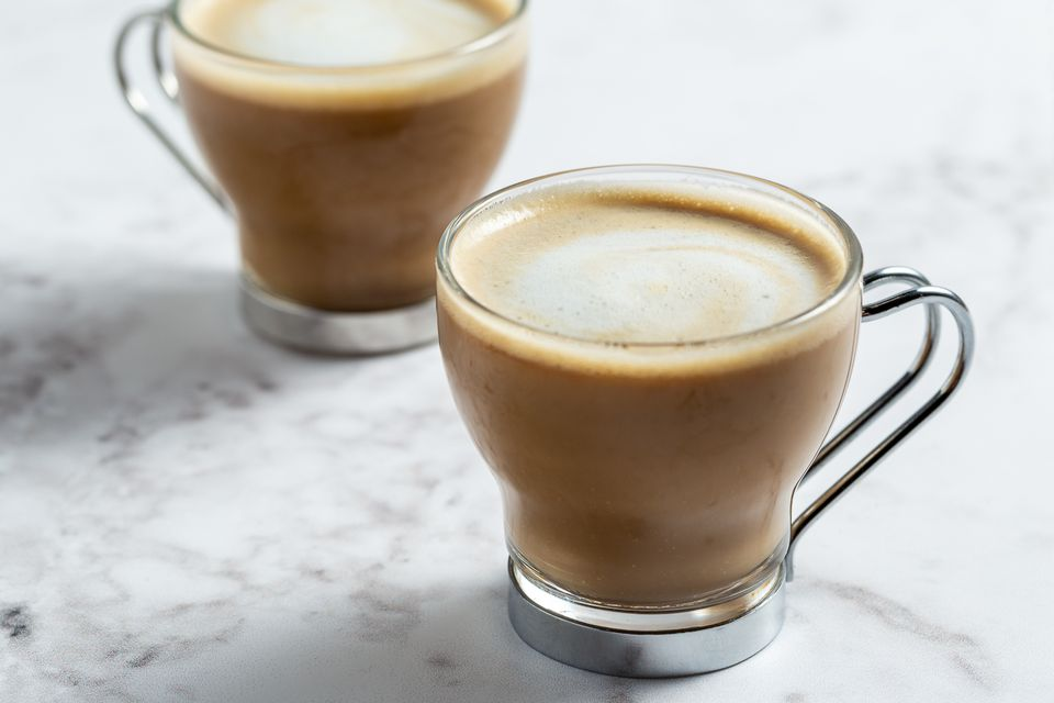 Flat white expresso drink
