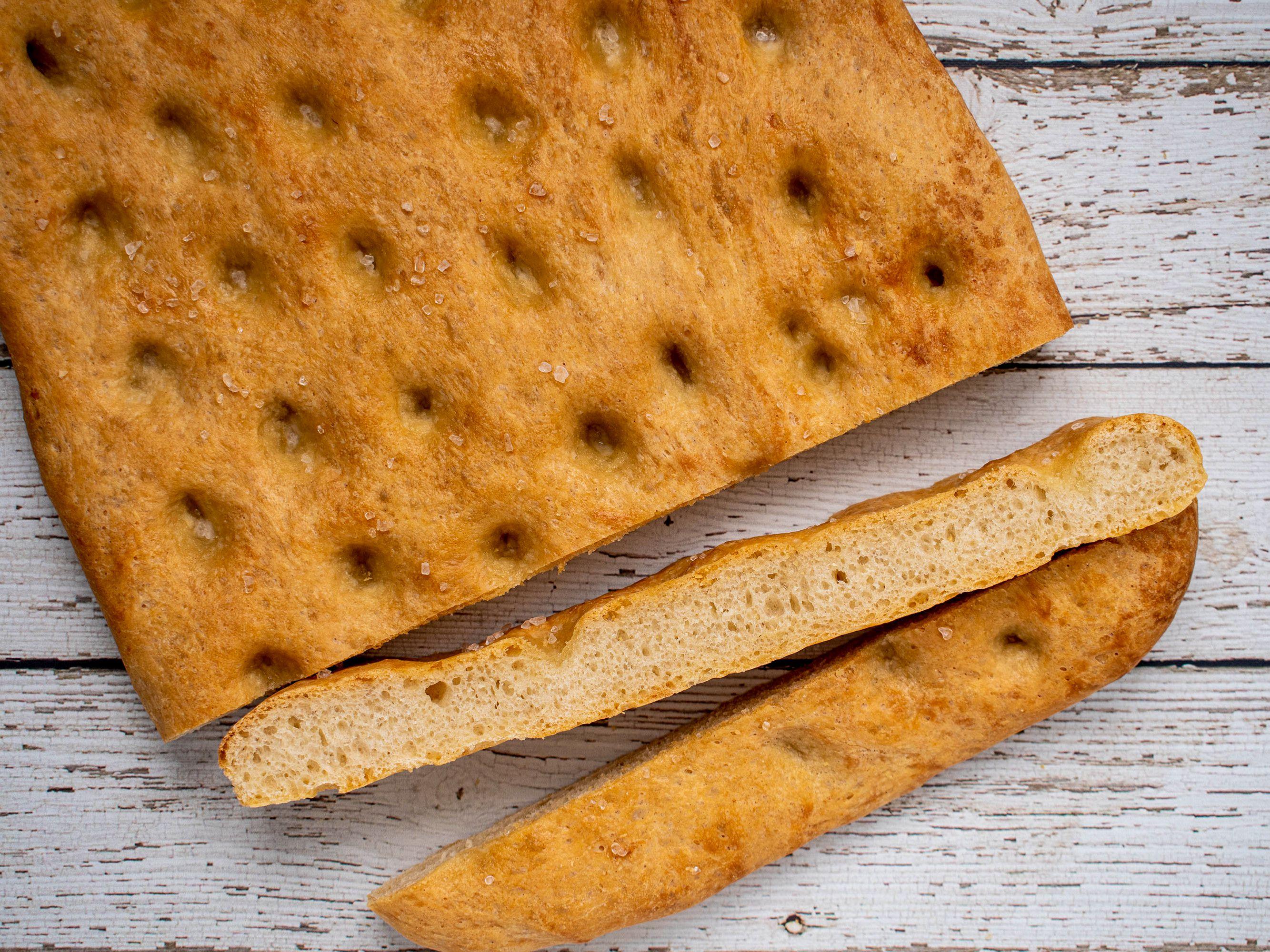 Tuscan Focaccia Bread Recipe