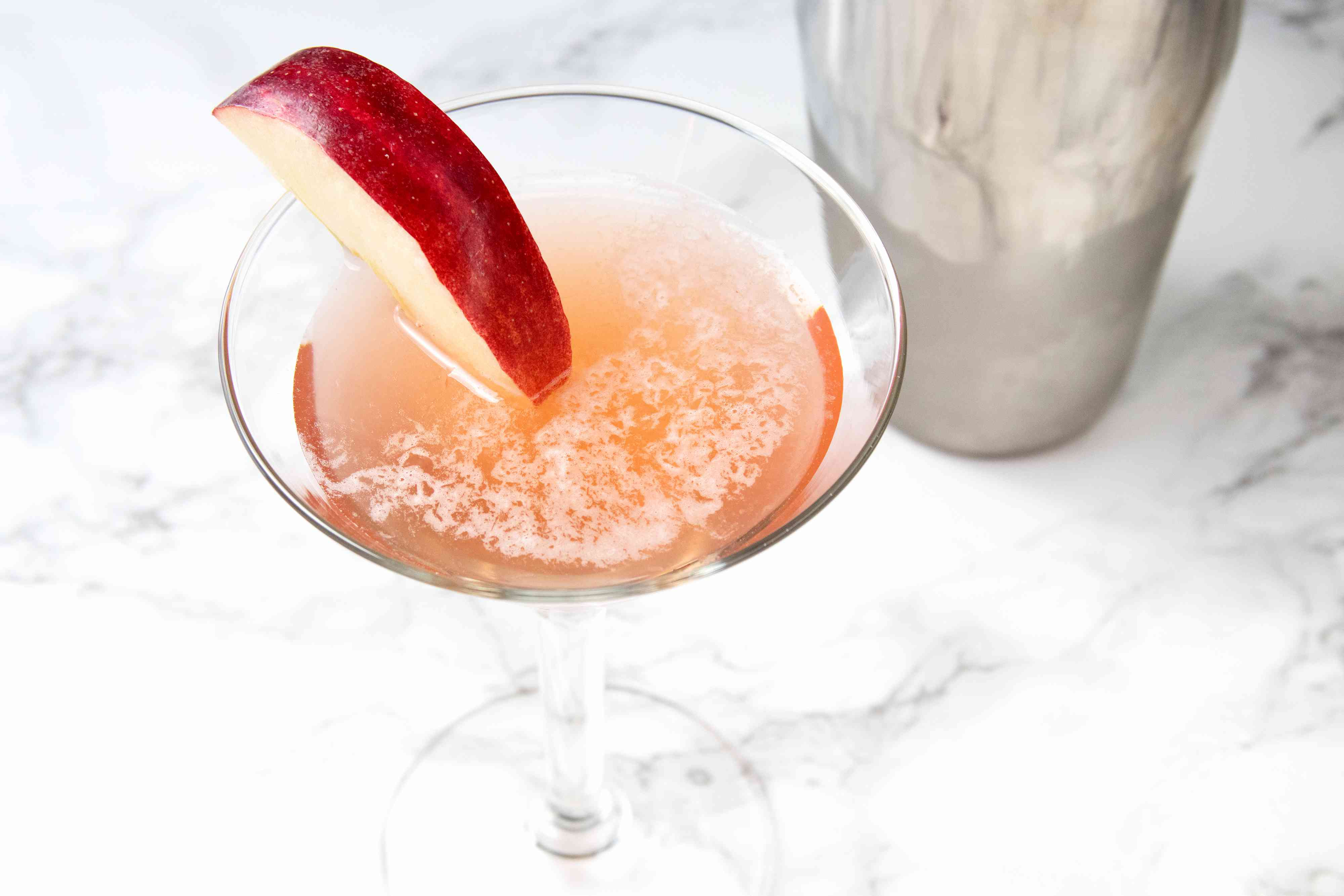 Cranberry Margarita With Apple-Cinnamon Tequila