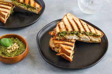 Grilled Chicken Panini Sandwich Recipe