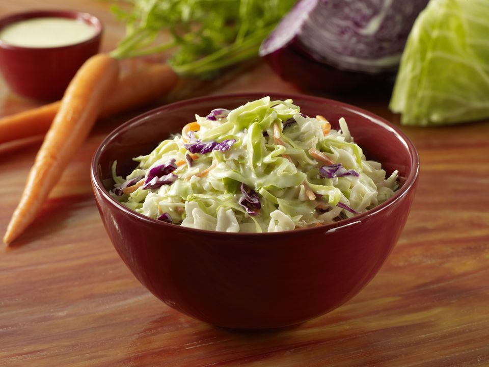 Tangy fresh coleslaw