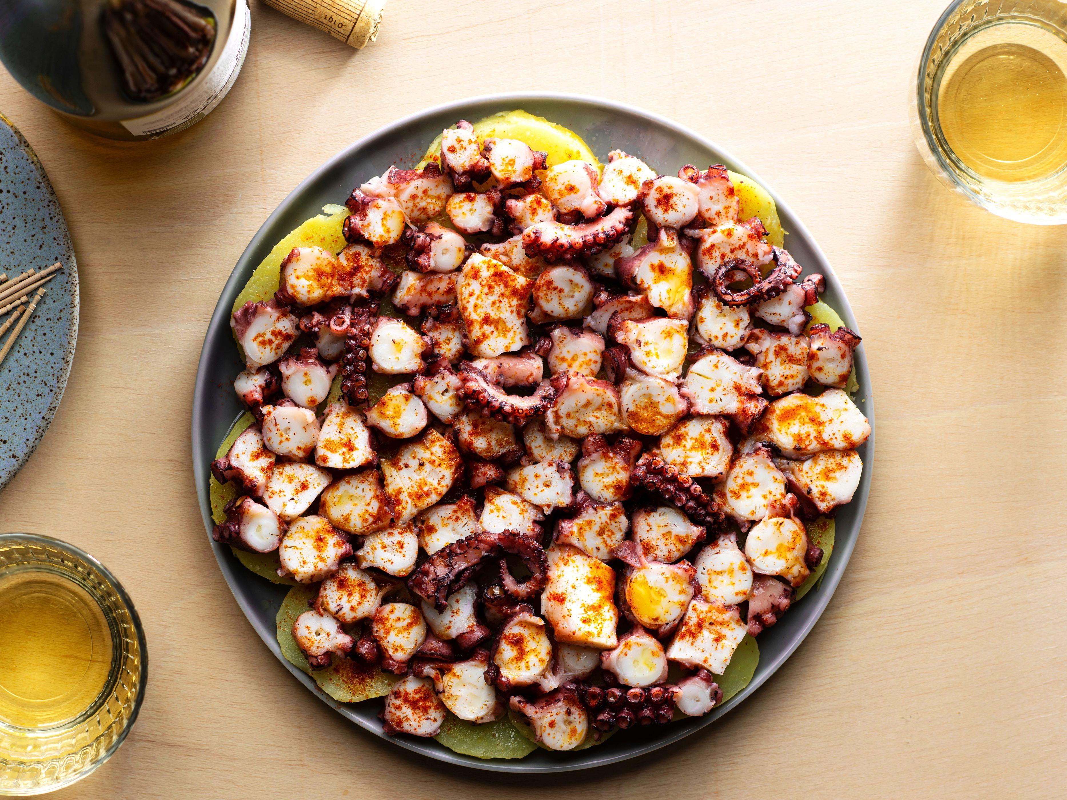 Galician-Style Octopus (Pulpo) Recipe