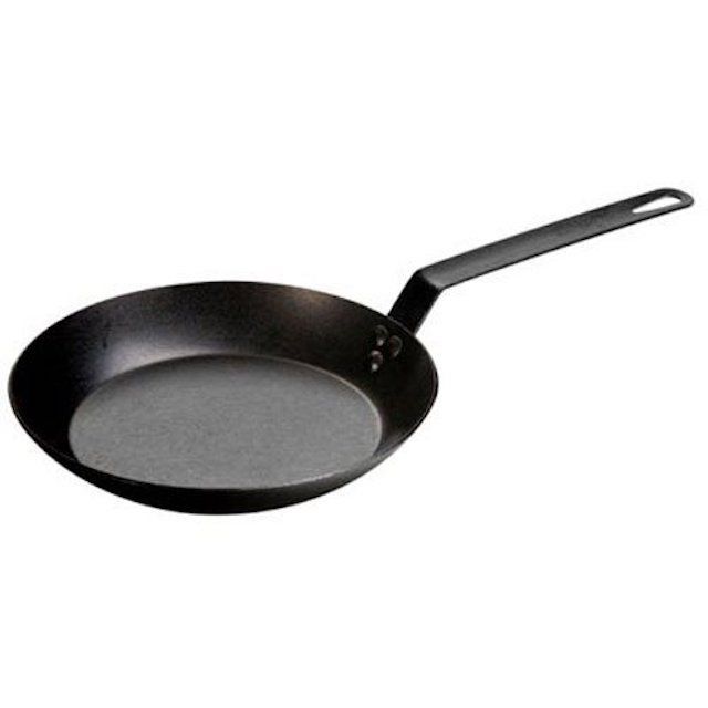 Lodge Seasoned Steel Skillet