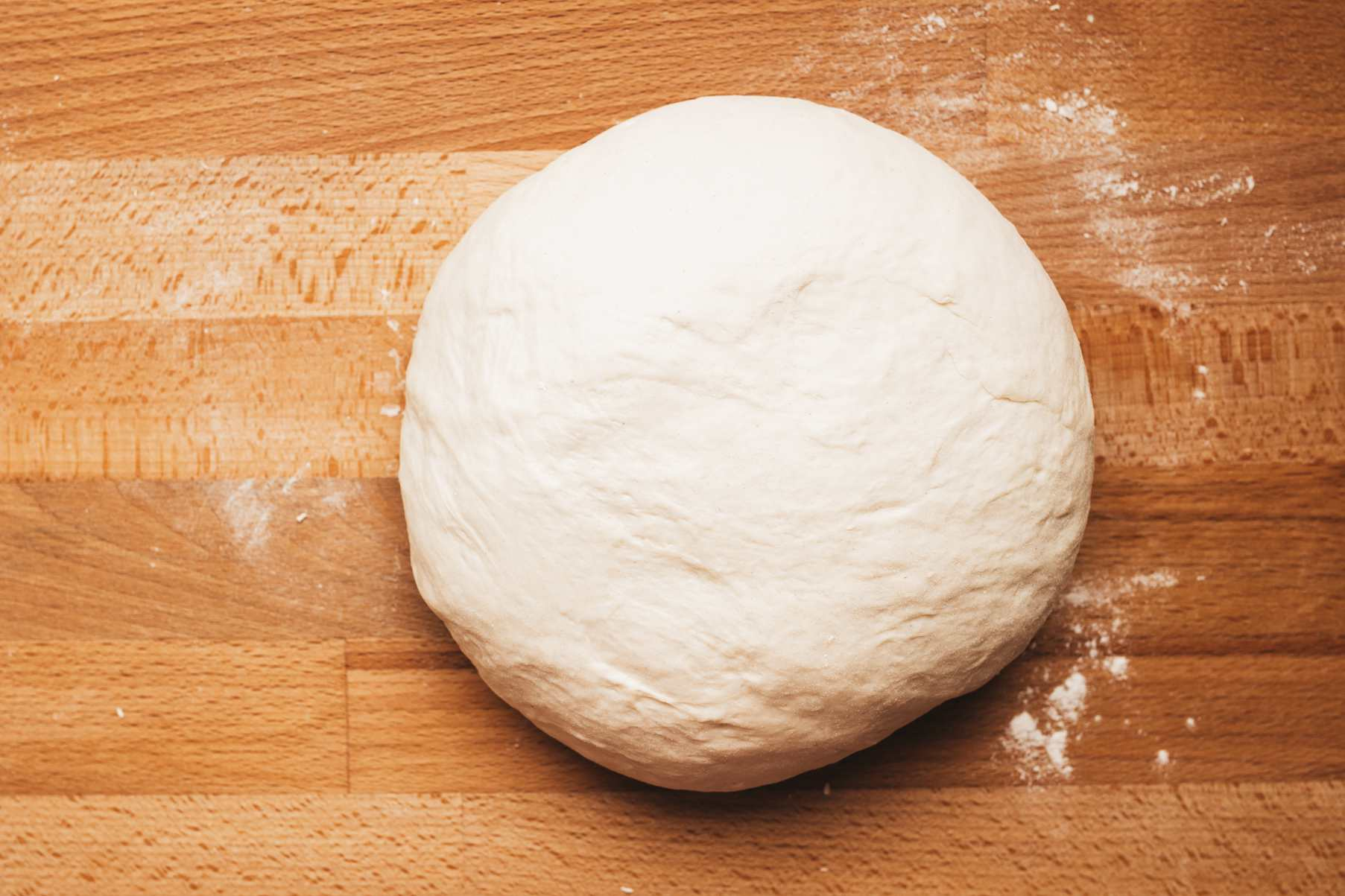 Give dough a quick knead