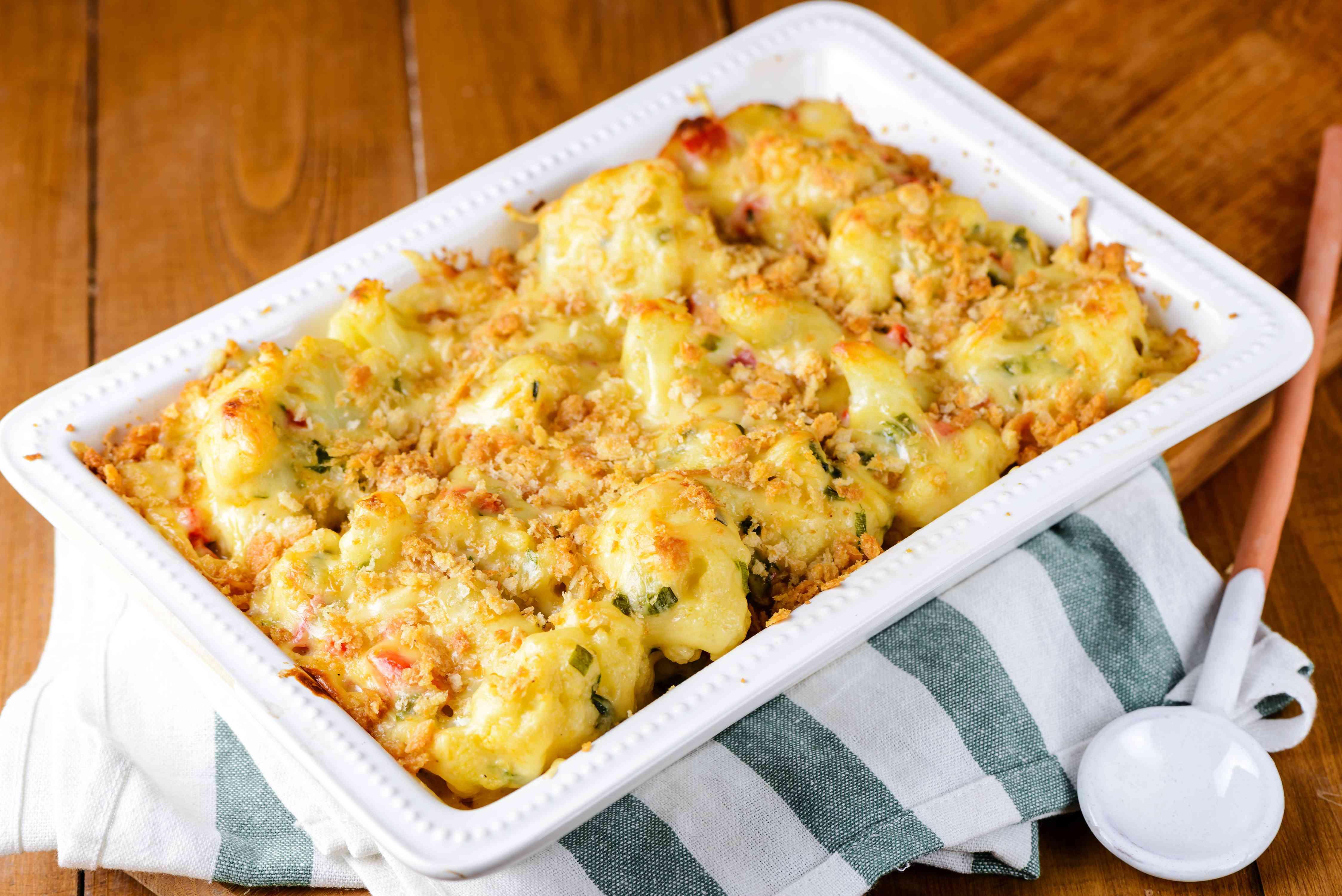 Cauliflower casserole recipe
