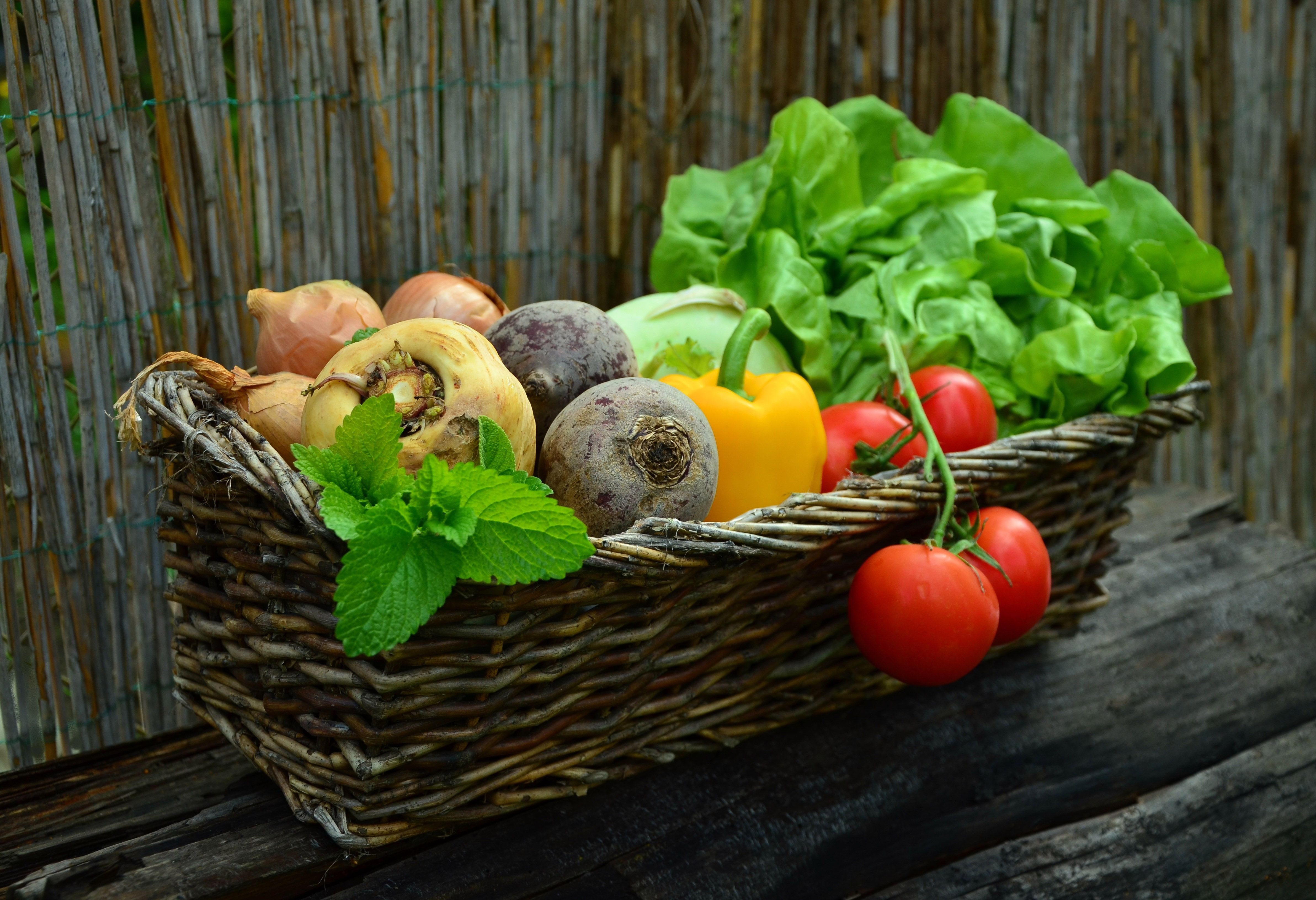 Greek Fruits Vegetables And Herbs That Are In Season Now
