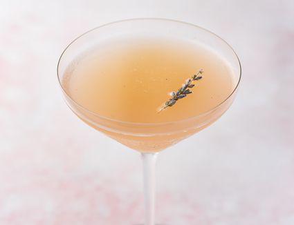 Lavender Lemon Drop Martini