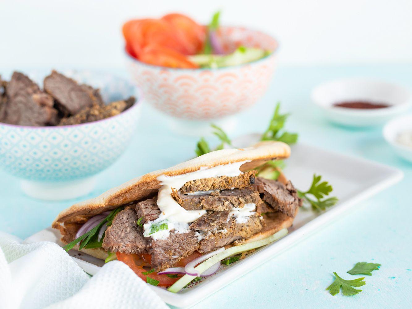 Make Your Own Beef Shawarma