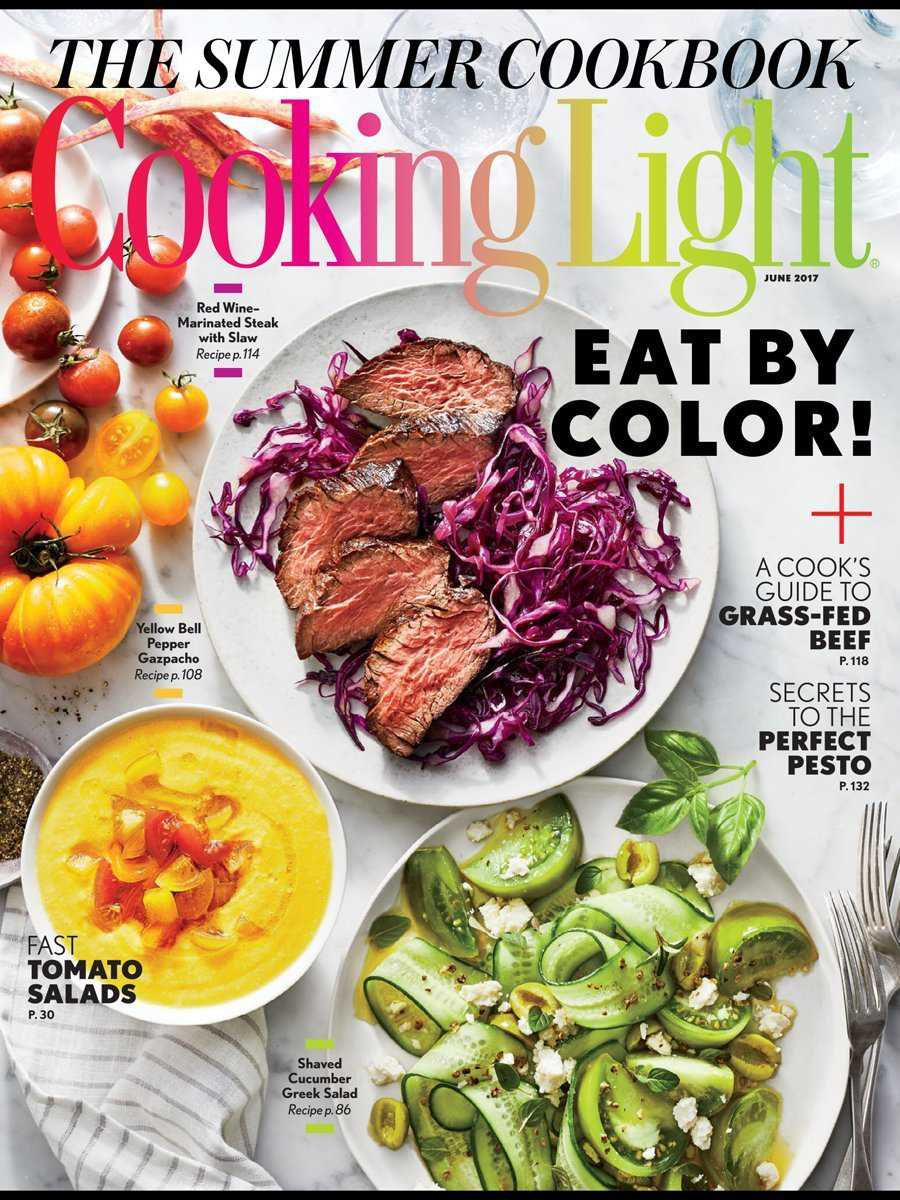 The top magazines for gourmet food lovers dont let the name fool you cooking light is about serious cooking dedicated to healthy living recipes take no shortcuts when it comes to flavor forumfinder Images