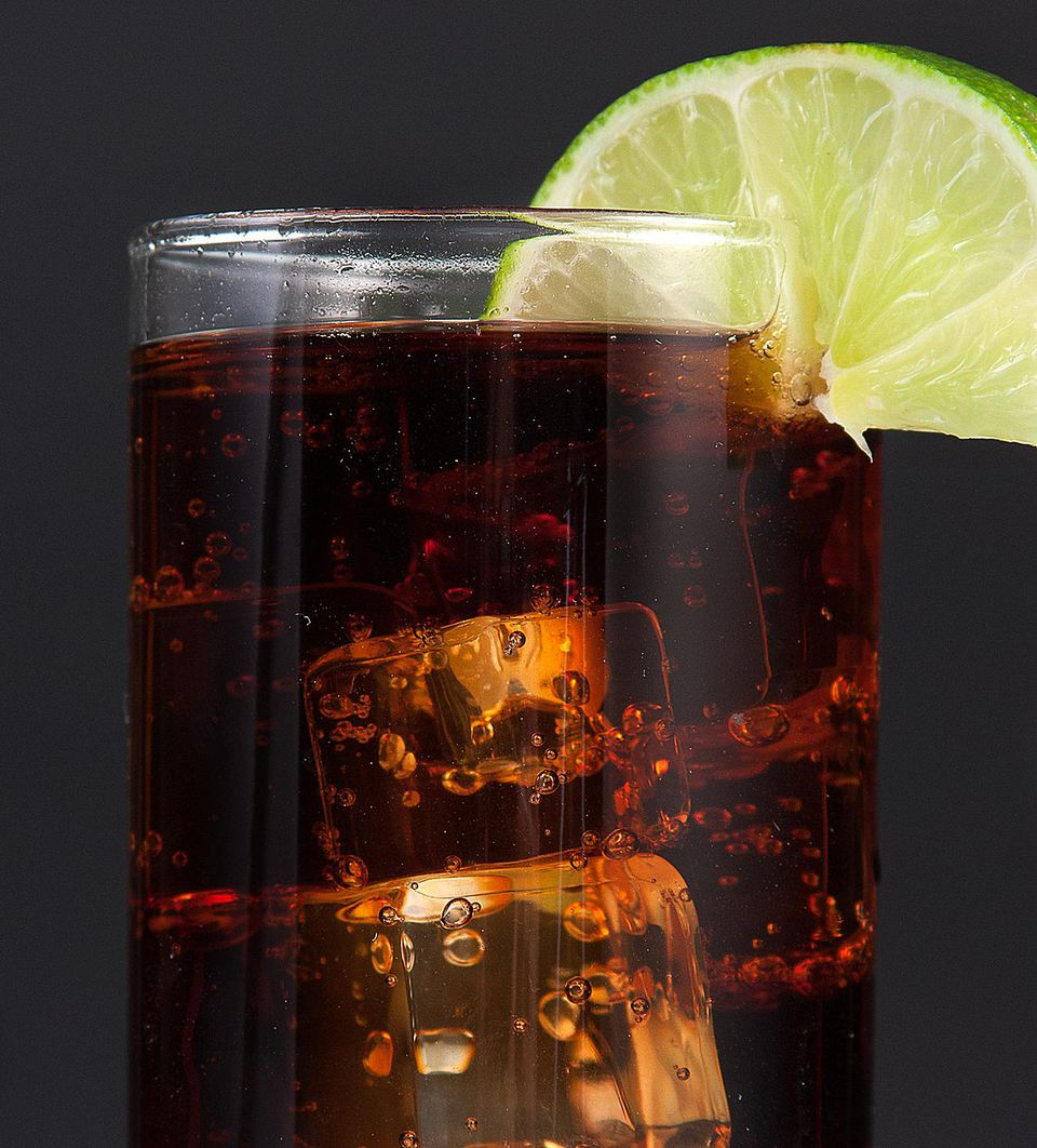 Lime Cola Non-alcoholic Mixed Drink