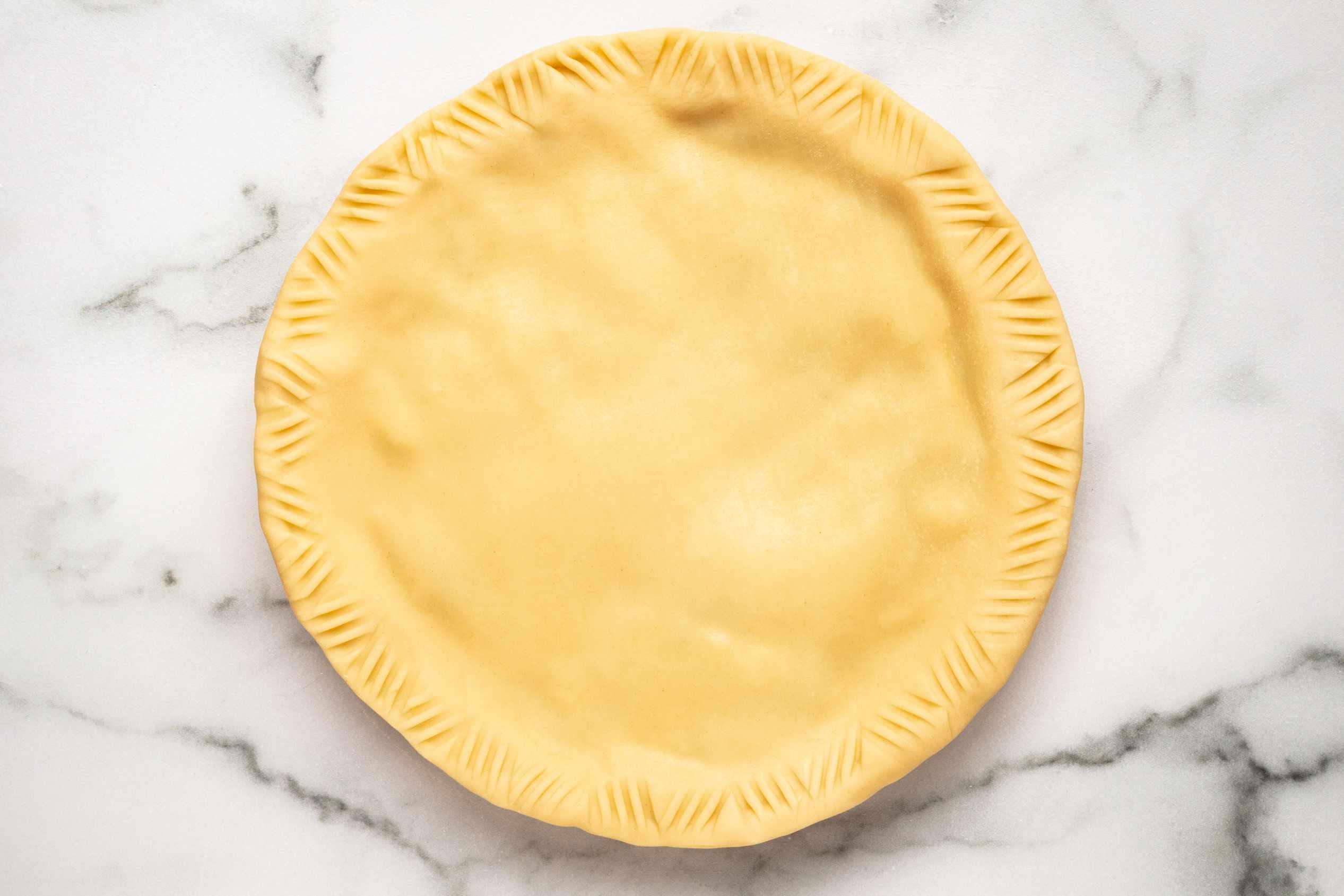 top crust for turkey pot pie
