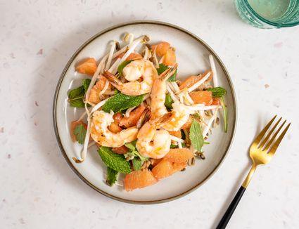Vietnamese Pomelo and Shrimp Salad