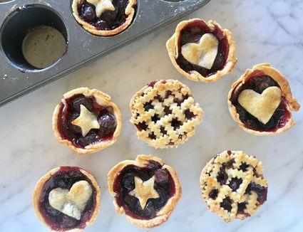 Muffin Tin Cherry Pies