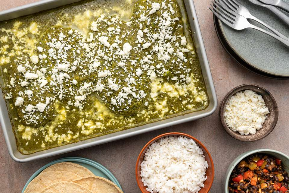 Mexican Green Chile Baked Chicken (Pollo Verde)